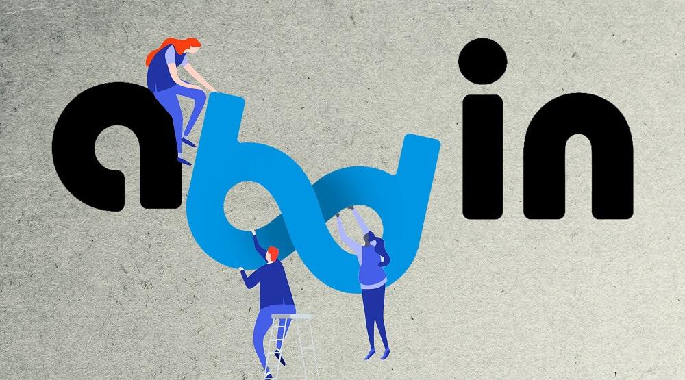 طراحی لوگوی آژانس دیجیتال مارکتینگ آبدین