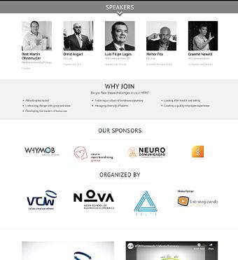 طراحی وبسایت VCW با آبدین