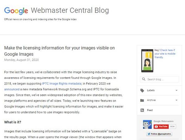 Google-Webmaster-Central-Blog