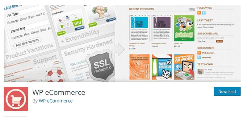 افزونه WP eCommerce در وردپرس
