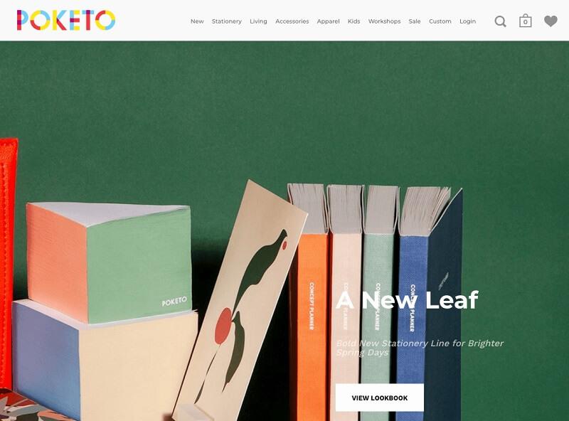 فروشگاه اینترنتی پوکِتو (Poketo)
