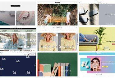 طراحی سایت فروشگاه اینترنتی، 15 نمونه خارقالعاده در دنیا