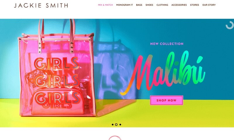 فروشگاه اینترنتی جکی اسمیت (Jackie Smith)