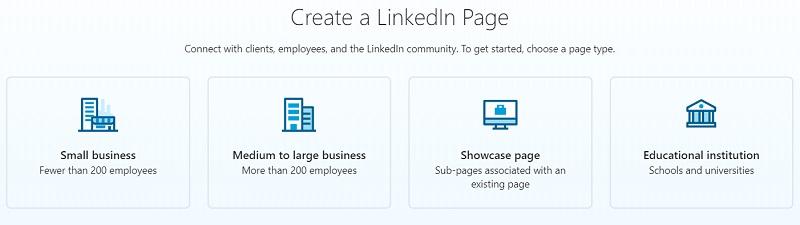 ایجاد صفحه لینکدین شرکتی
