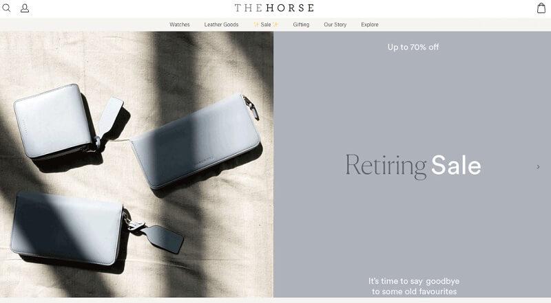 فروشگاه اینترنتی هورس (The Horse)